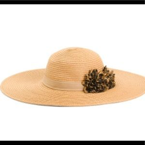 August hats Floppy hat with leopard Flower